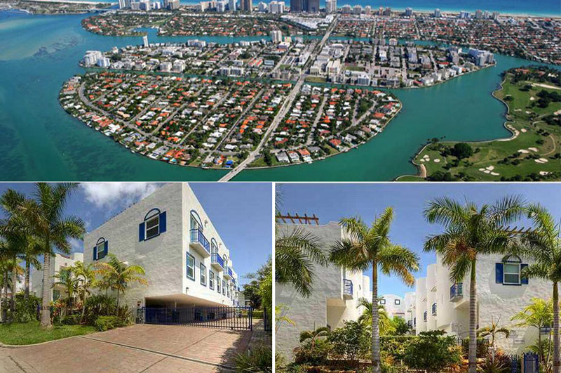 Luxury Townhouse for rent Miami