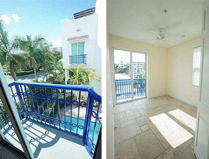Miami luxury townhouse for rent