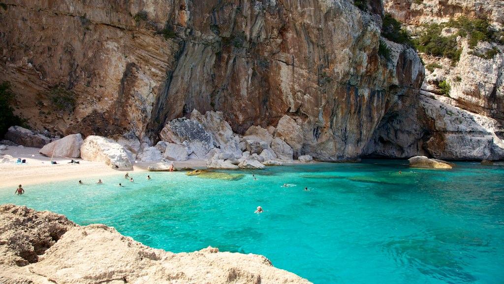 Clear water in Sardinia