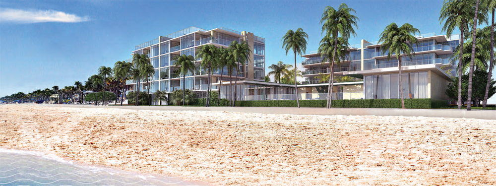 exclusive beachfront residences in Hollywood Beach