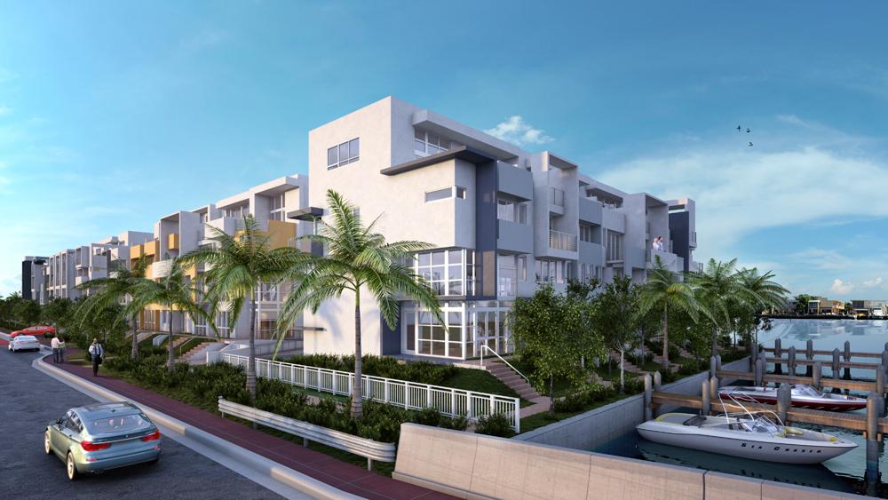 new luxury townhouses community