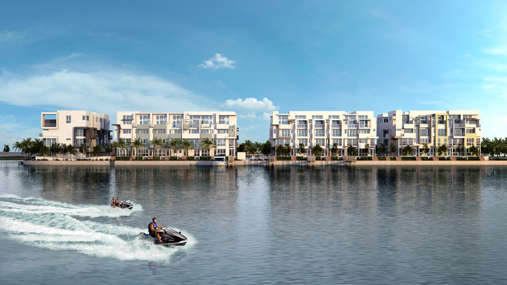 enjoy the water on Iris a new waterfront community