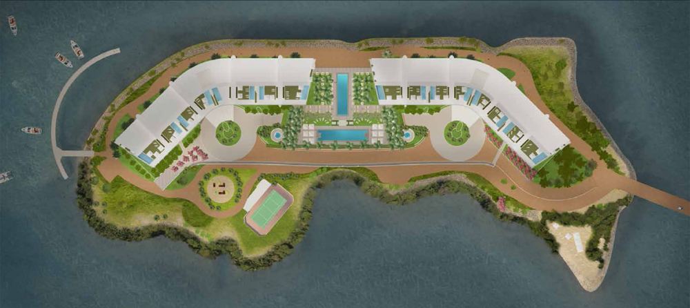Proposed layout of Prive
