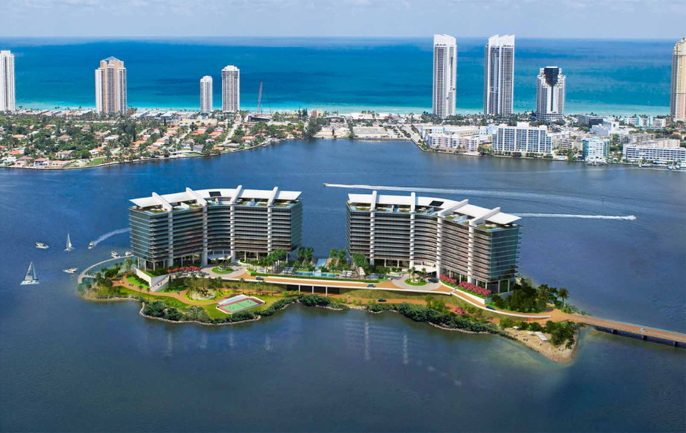 Prive private Island in Aventura