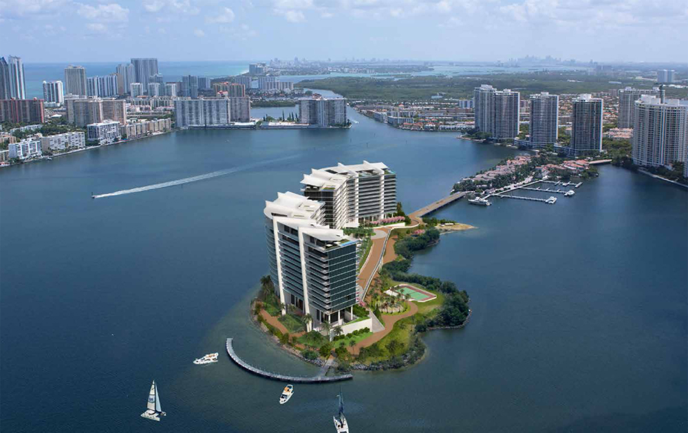 Prive Situated on an eight-acre private island in the Intracoastal Waterway