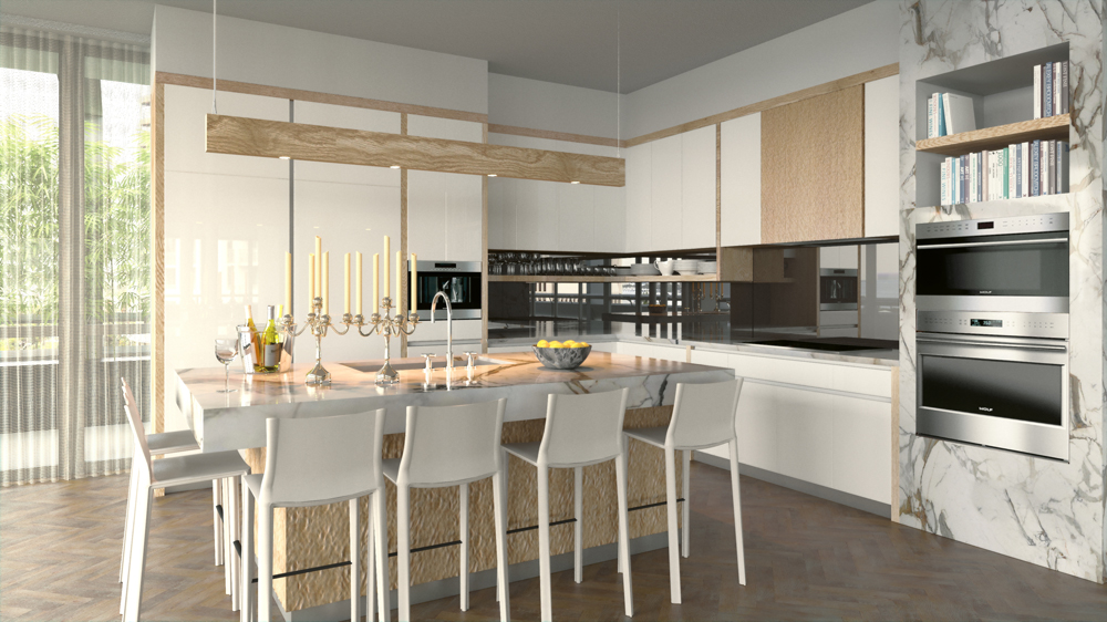 New project in Coconut Grove interior by WILLIAM SOFIELD