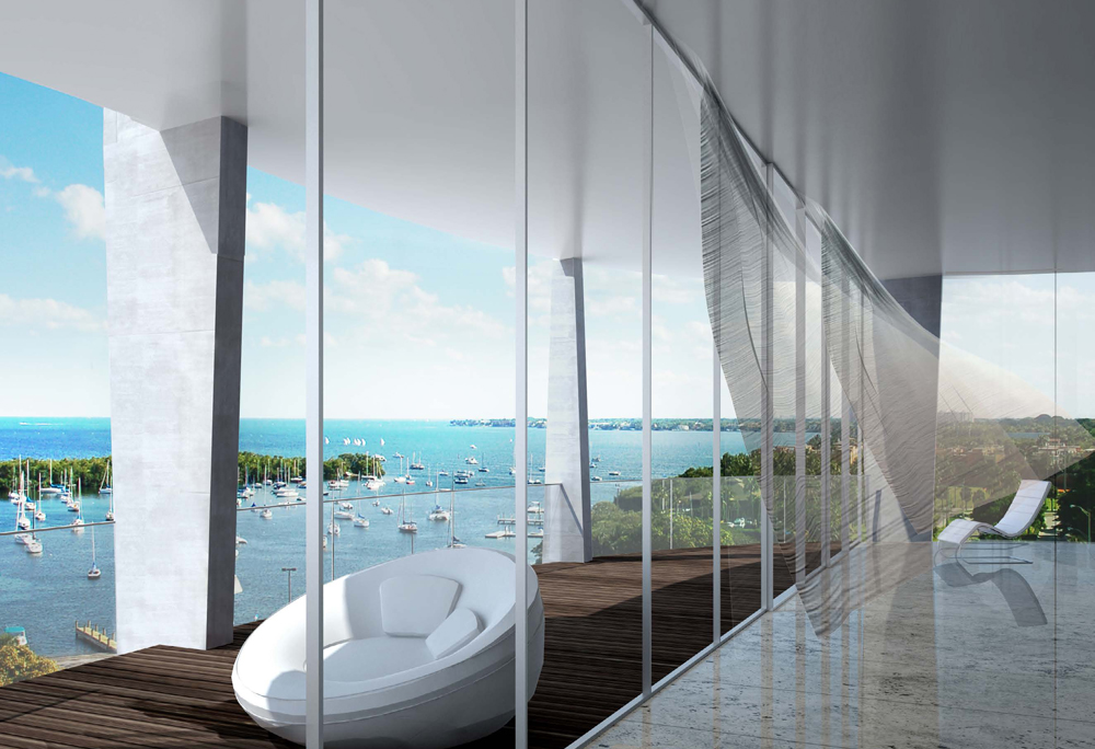 luxury new construction project in Coconut Grove