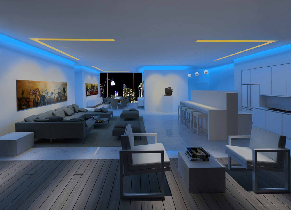 Living room Edge Miami
