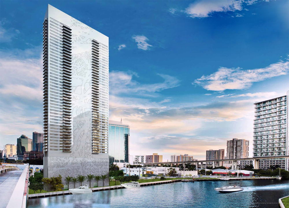 Edge on the river in the heart of Brickell