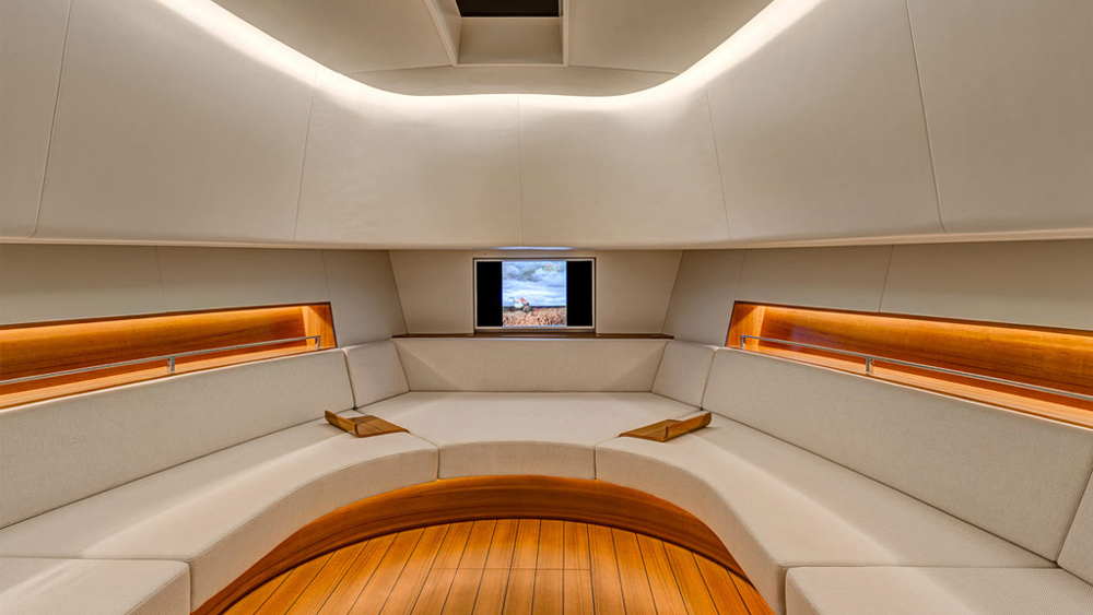 fully customized interiors at Alen Yachts