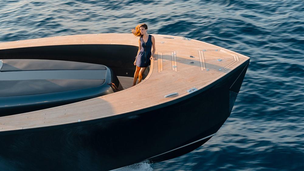 Alen 55 yacht an open style cruiser