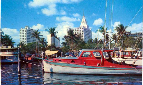 Historical Pier Five in Miami