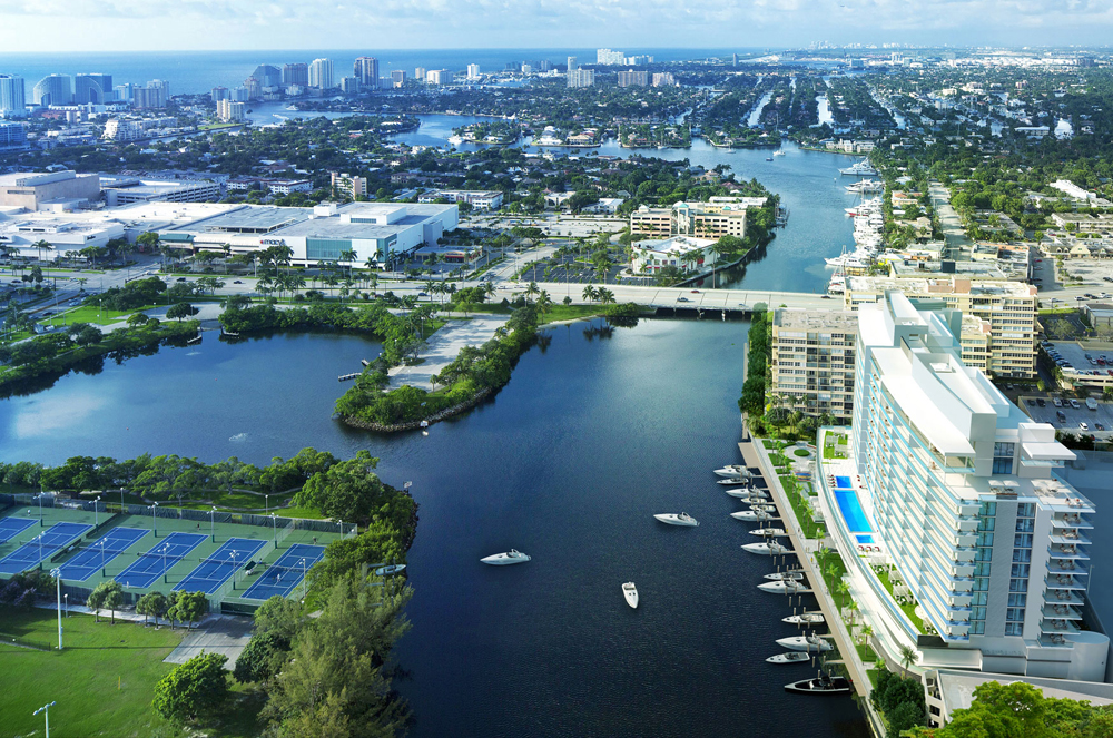 A new waterfront project Riva Ft Lauderdale Condo In the Heart of the yachting capital of the world