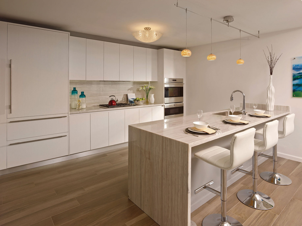 luxury kitchens at Riva condo in Ft. Lauderdale