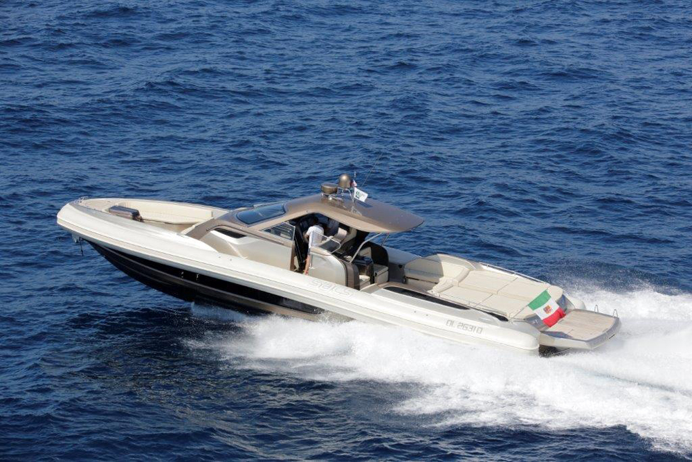 SACS RIB strider 18 rigid inflatable boat (RIB)