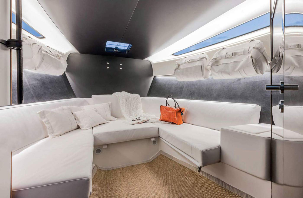 WIDER 42 interior below deck