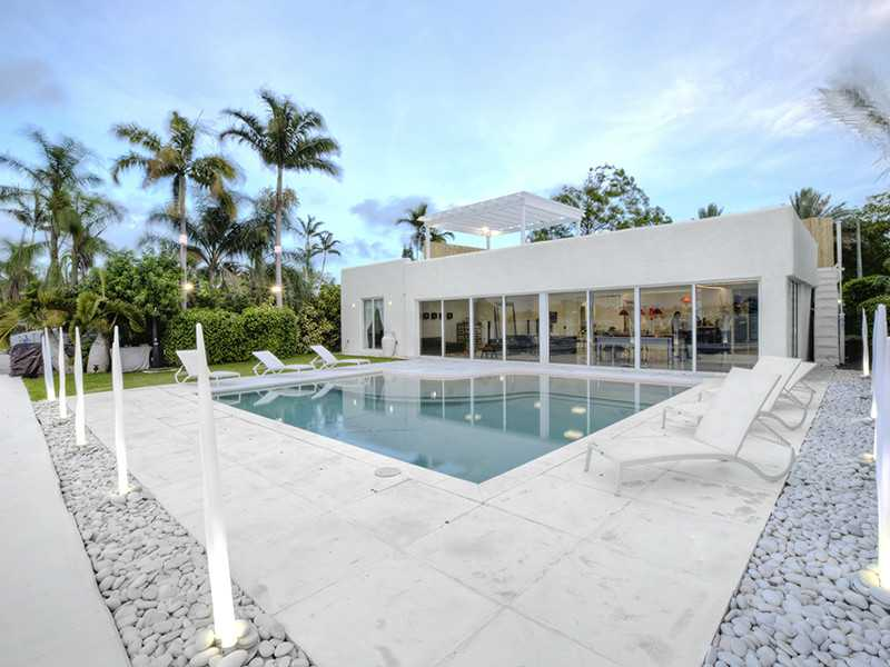 Modern waterfront Villa for sale miami